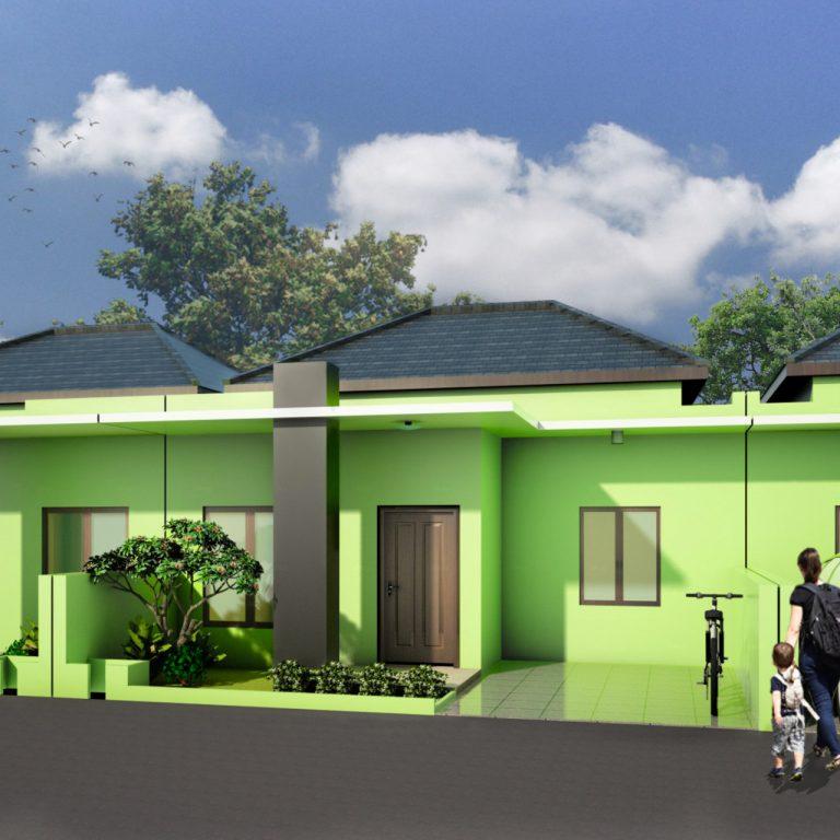 architecture minimalist house pondok kacang