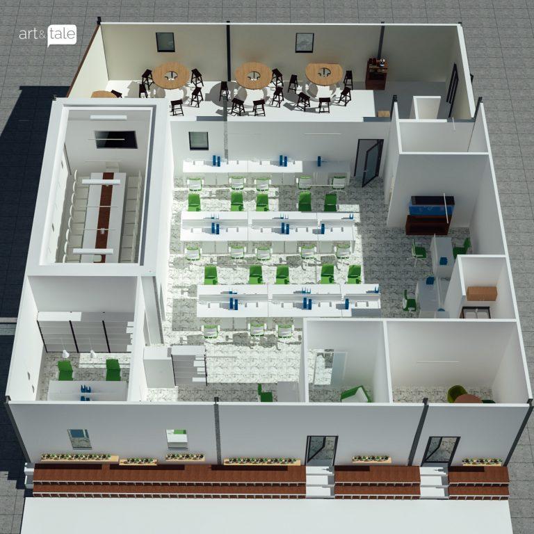 interior design site office