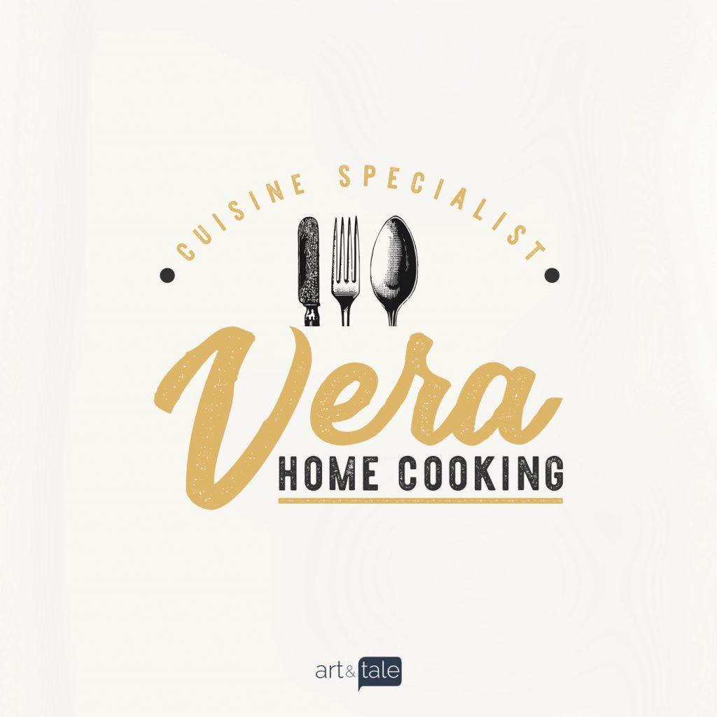 Brand identity - vera home cooking 1