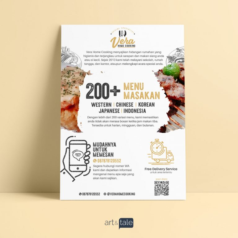 Brand identity - vera home cooking 2