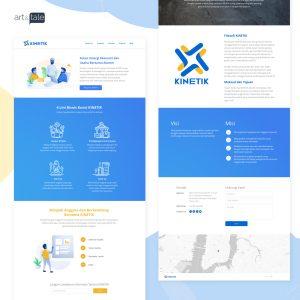 web design for KINETIK