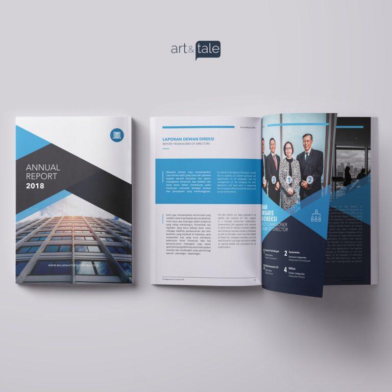 Annual Report PT Majapahit Inti Corpora