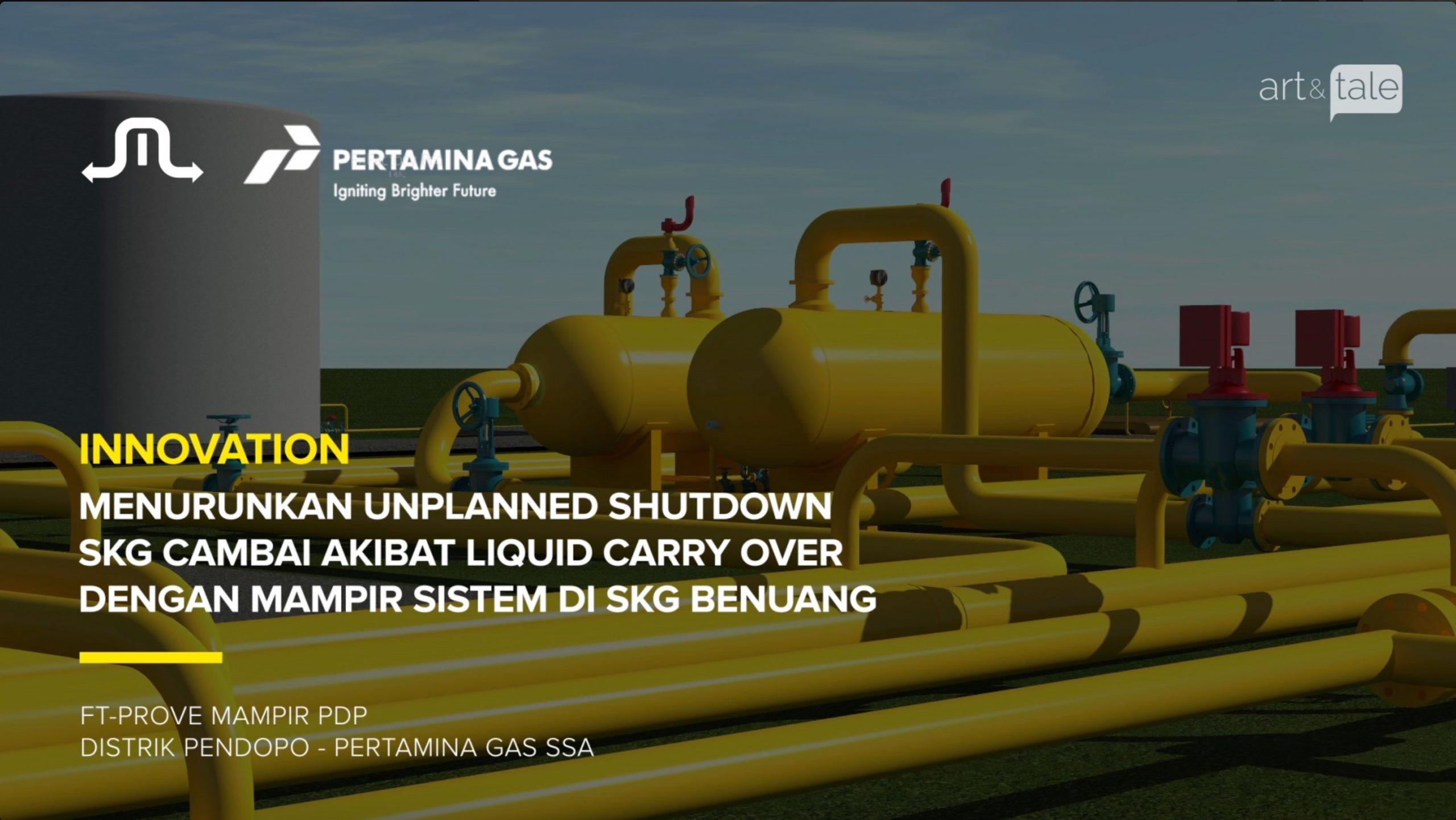 Pertamina Gas - SKG Benuang