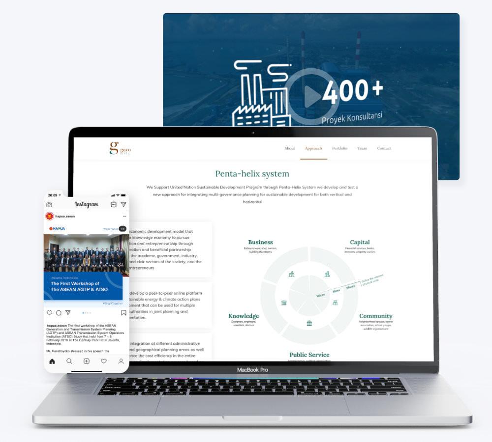 Enterprise digital presence